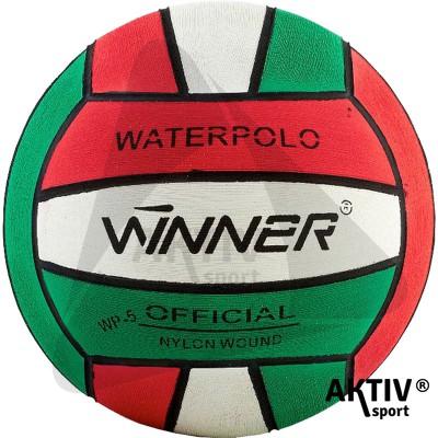 Vízilabda Winner piros-fehér-zöld méret: 4