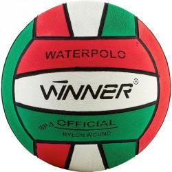 Vízilabda Winner piros-fehér-zöld méret: 4 Sportszer Winner