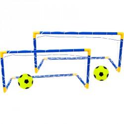 Focikapu 90x60x45 cm labdával Sportszer