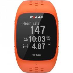 Sportóra Polar M430 narancssárga GPS-el Sportszer Polar