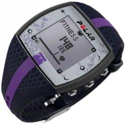 Polar FT7F női pulzusmérő óra sötétkék lila csíkkal Sportszer Polar