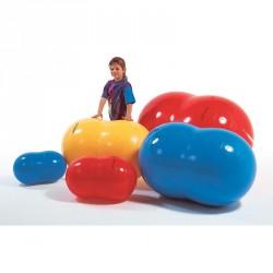 Fizio-roll 85 cm piros Sportszer