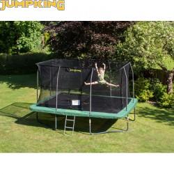 Trambulin Jumpking szögletes 366x519 cm Sportszer Jumpking