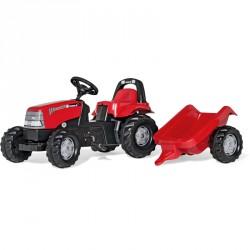 Pedálos traktor utánfutóval Rolly Kid Case CVX 1170 Pedálos járművek Rolly Toys