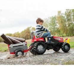 Pedálos traktor utánfutóval Rolly Junior Pedálos járművek Rolly Toys