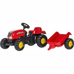 Pedálos traktor utánfutóval Rolly Kid-X Pedálos járművek Rolly Toys