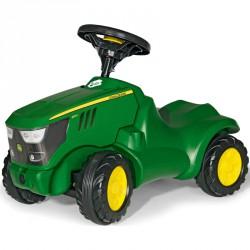 Mini traktor Rolly Minitrac John Deere 6150 R Lábbal hajtható járművek Rolly Toys