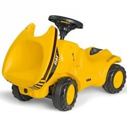 Mini dömper Rolly Minitrac CAT Lábbal hajtható járművek Rolly Toys