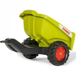Utánfutó Rolly Trailer Claas Kipper Lábbal hajtható járművek Rolly Toys