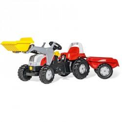 Pedálos markolós traktor utánfutóval Rolly Kid Steyr 6160 CVT Pedálos járművek Rolly Toys