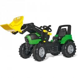 Pedálos markolós traktor Rolly FarmTrac Deutz-Fahr Agrotron 7250 TTV Pedálos járművek Rolly Toys