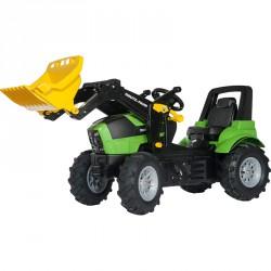 Pedálos markolós traktor Rolly FarmTrac Deutz-Fahr Agroton 7250 Pedálos járművek Rolly Toys