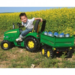Pedálos markolós traktor Rolly X-Trac John Deere Pedálos járművek Rolly Toys