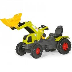 Pedálos markolós traktor Rolly FarmTrac Claas Axos 340 Pedálos járművek Rolly Toys