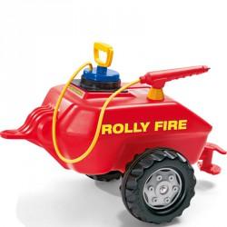 Tűzoltó tartály utánfutó Rolly Trailer Fire Tanker Lábbal hajtható járművek Rolly Toys