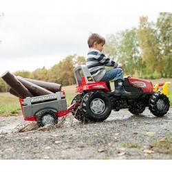 Utánfutó Rolly Farm Trailer Lábbal hajtható járművek Rolly Toys