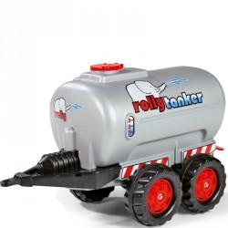 Tartályos utánfutó zöld Rolly Trailer Tanker Pedál nélküli járművek Rolly Toys
