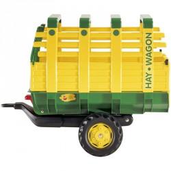 Egytengelyes szénaszállító utánfutó Rolly Trailer Pedál nélküli járművek Rolly Toys