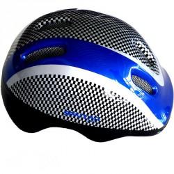 Kerékpáros sisak kék Sportszer Spartan