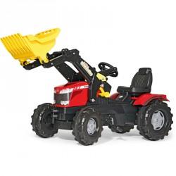 Markolós pedálos traktor Massey Ferguson 8650 Pedálos járművek Rolly Toys