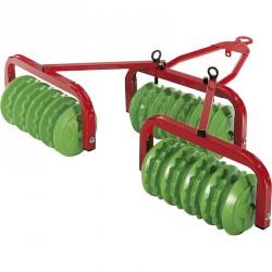 Tárcsás utánfutó Rolly Farm Trailer Pedál nélküli járművek Rolly Toys
