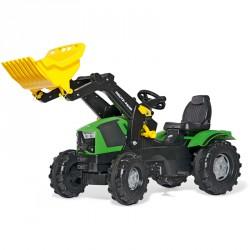 Pedálos markolós traktor Rolly FarmTrac Deutz-Fahr 5120 Pedálos járművek Rolly Toys