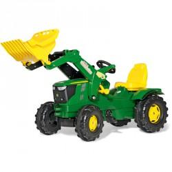 Pedálos markolós traktor Rolly FarmTrac John Deere 6210R Pedálos járművek Rolly Toys