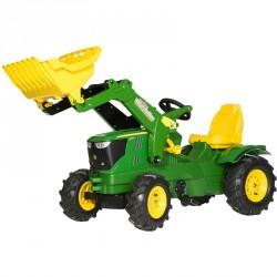 Pedálos traktor markolóval Rolly Farmtrac John Deere 6210R Pedálos járművek Rolly Toys