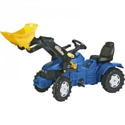 Pedálos traktor utánfutóval Rolly FarmTrac New Holland TD 500 Pedálos járművek Rolly Toys