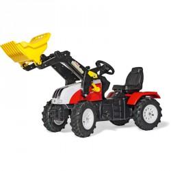 Pedálos markolós traktor Rolly FarmTrac Steyr CVT 6230 Pedálos járművek Rolly Toys