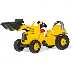 Pedálos markolós traktor Rolly Kid New Holland Construction Pedálos járművek Rolly Toys