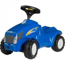 Lábbal hajtós mini traktor Rolly Minitrac New Holland T6010 Pedál nélküli járművek Rolly Toys