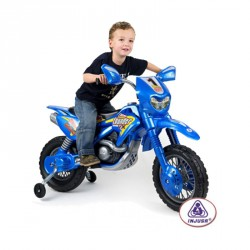 Elektromos motor Injusa Enduro kék Játék Injusa