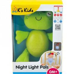 Béka világító, zenélő szundi pajtás Ks Kids Bébi kiegészítők Ks Kids