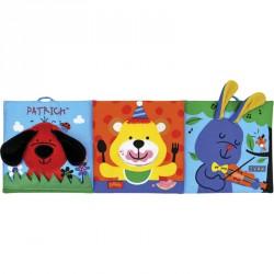 Boldog háromszög bébikönyv Ks Kids Készségfejlesztő játékok Ks Kids