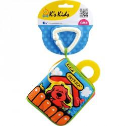 Első plüss könyvecském Ks Kids Készségfejlesztő játékok Ks Kids