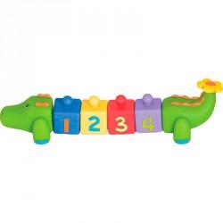 Építgető játék Ks Kids Krokodilos kocka Készségfejlesztő játékok Ks Kids