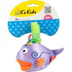 Plüss pajtás Ks Kids Lila Bálna Bébi kiegészítők Ks Kids