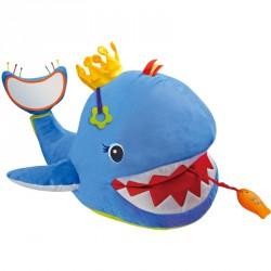 Plüss pajtás Ks Kids nagy kék bálna Készségfejlesztő játékok Ks Kids