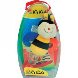 Műanyag csörgő Ks Kids Okos Méhecske Csörgők Ks Kids