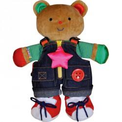 Öltöztethető Teddy Maci Ks Kids Készségfejlesztő játékok Ks Kids
