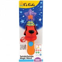Csillogó villogó varázspálca Ks Kids Patrick Készségfejlesztő játékok Ks Kids