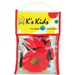 Puha csörgő Ks Kids Patrick Bébi kiegészítők Ks Kids