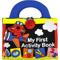 Plüss foglalkoztató könyvecske Ks Kids Készségfejlesztő játékok Ks Kids