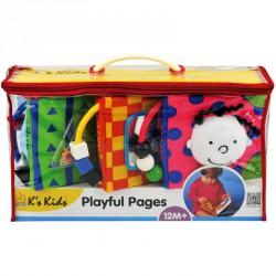Plüss játékos kiskönyv Ks Kids Készségfejlesztő játékok Ks Kids