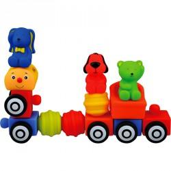 Popbo vonat készlet Ks Kids Készségfejlesztő játékok Ks Kids