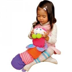 Plüss Kukacka Ks Kids rózsaszín Készségfejlesztő játékok Ks Kids