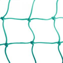 Védőháló kültéri 3,75x0,9 m 10x10 cm, zöld, 3,5 mm Sportszer FAR