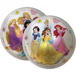 Gumilabda Disney hercegnők áttetsző 23 cm Sportszer Mese labda
