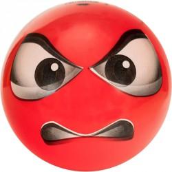 Gumilabda Smiley 14 cm piros Sportszer Mese labda